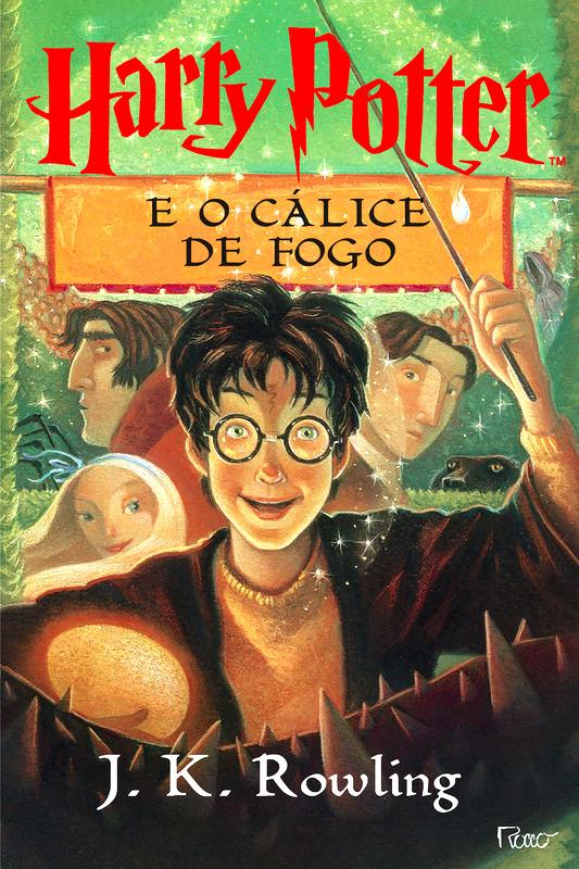 Harry Potter e o Calice de Fogo Capa Livro