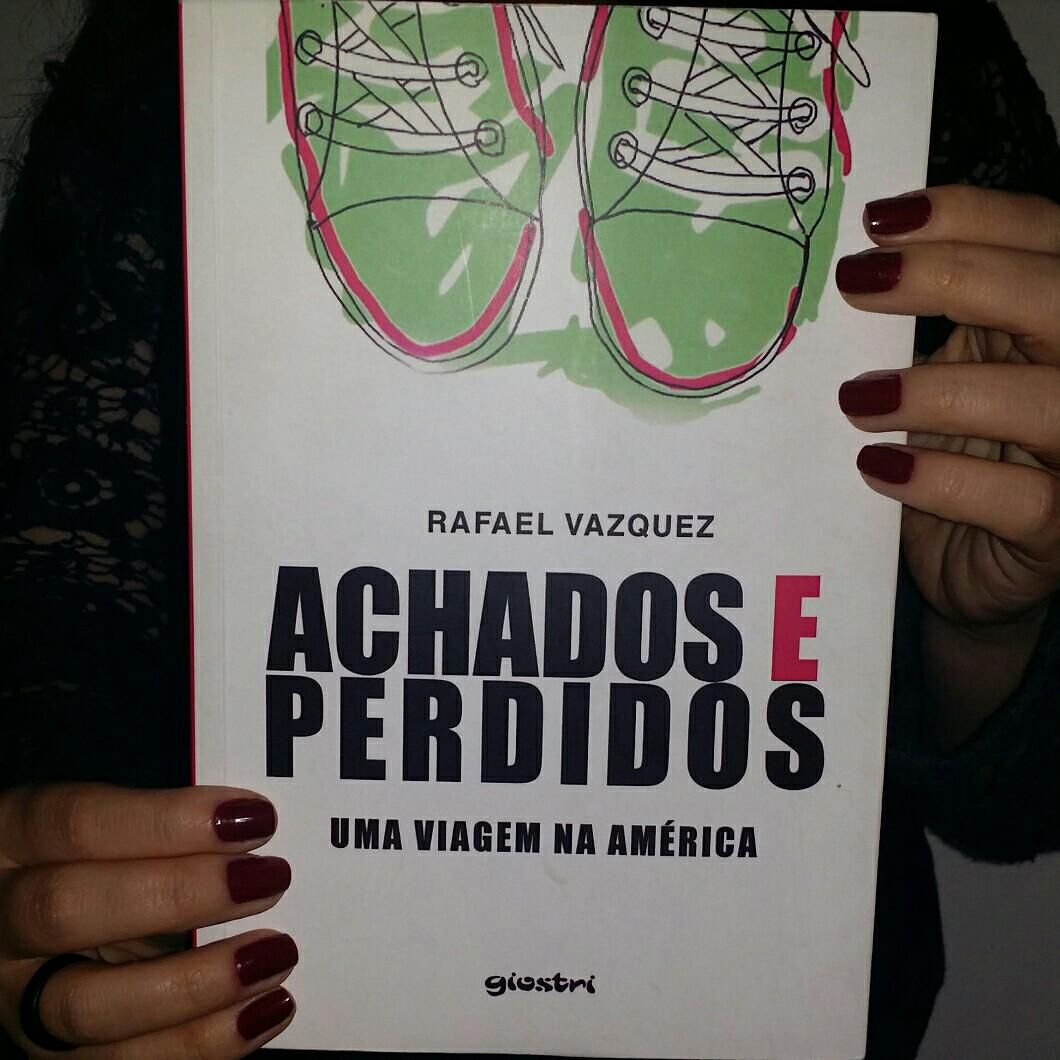 capa livro achados e perdidos uma viagem na América