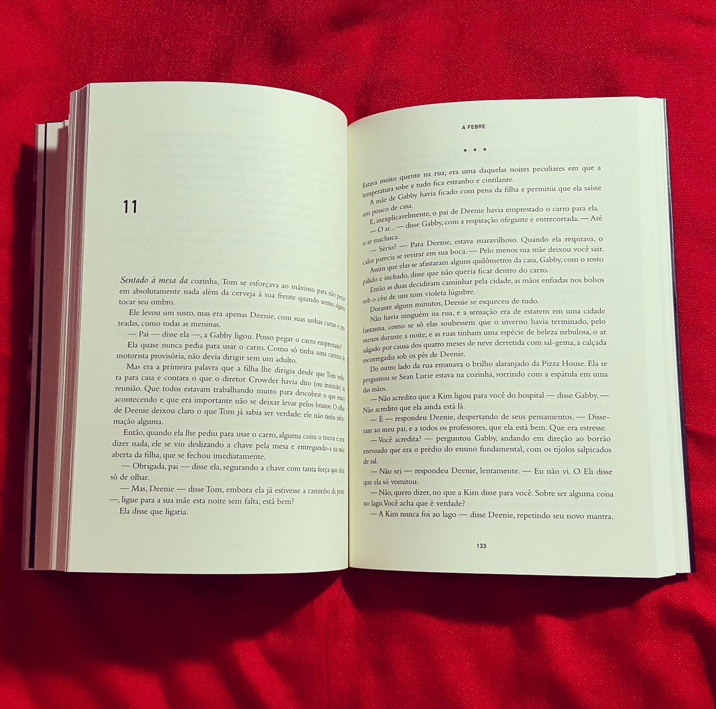 a febre livro
