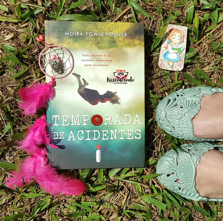Livro temporada de acidentes