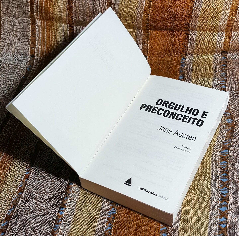 Livro Orgulho e preconceito