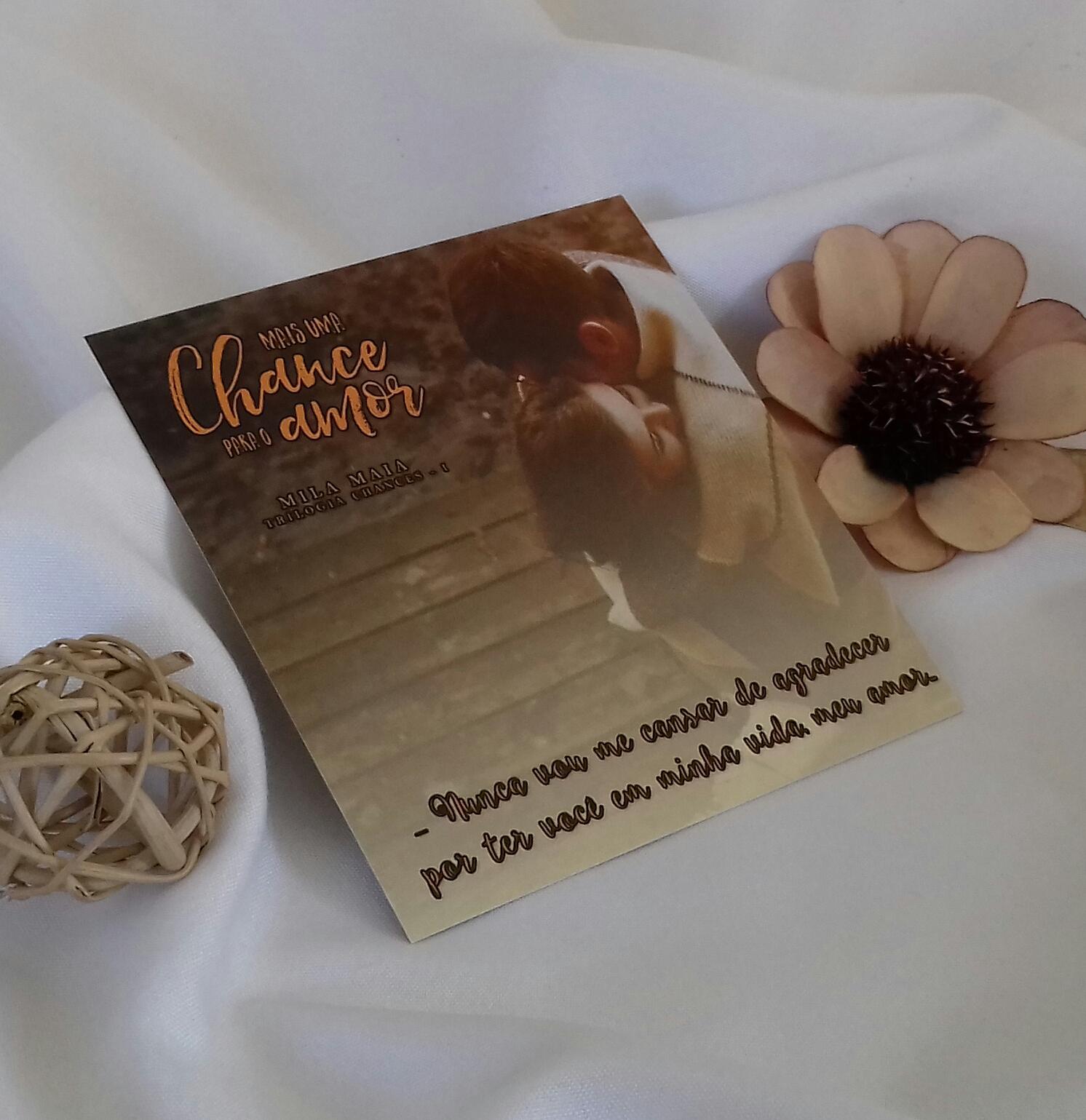 Livro mais uma chance para o amor